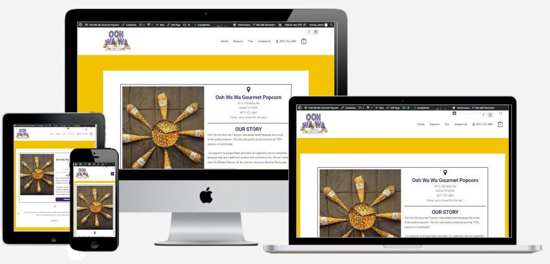 Ooh Wa Wa Web Design Client